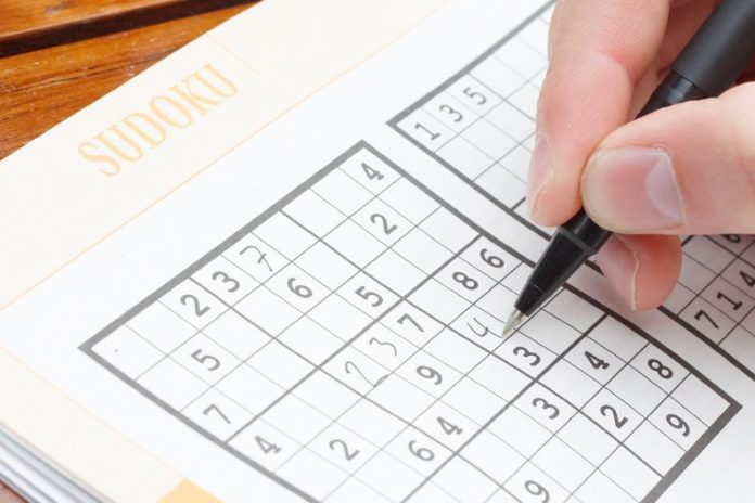 Sudoku Training For The Brain