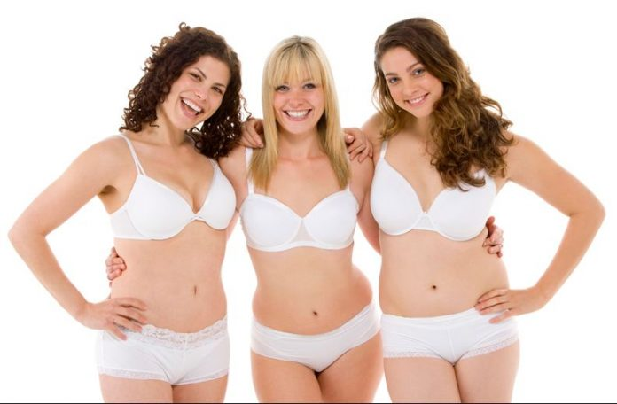 Different Styles Of Women's Underwear Amongst Panties And Bras